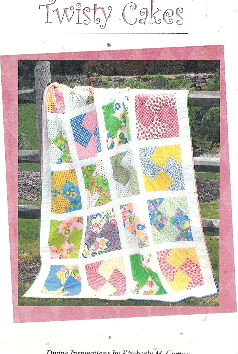 Twisty Cakes, Easy Quilt Pattern by Kimberly Camou - Click Image to Close